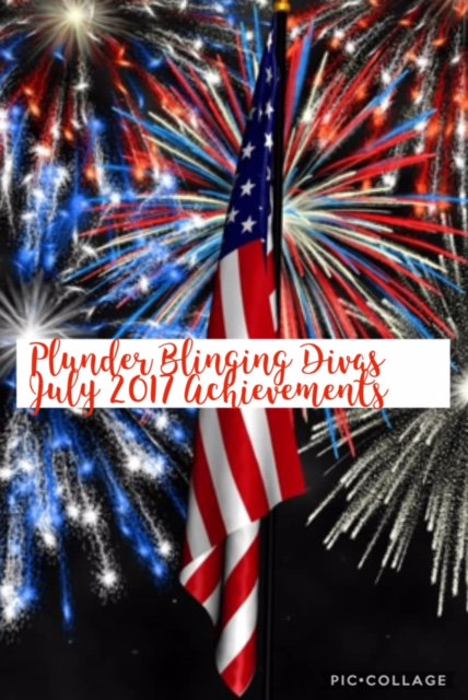 Plunder Design Blinging Divas July 2017 Monthly Update