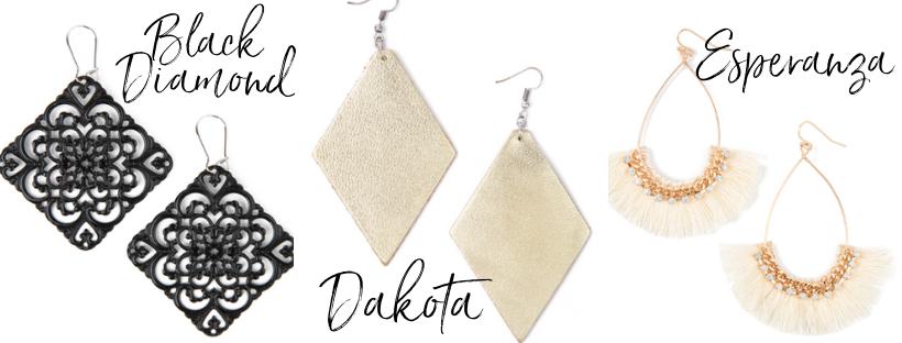 bold plunder design jewelry earrings