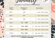 Double Hostess Rewards in January