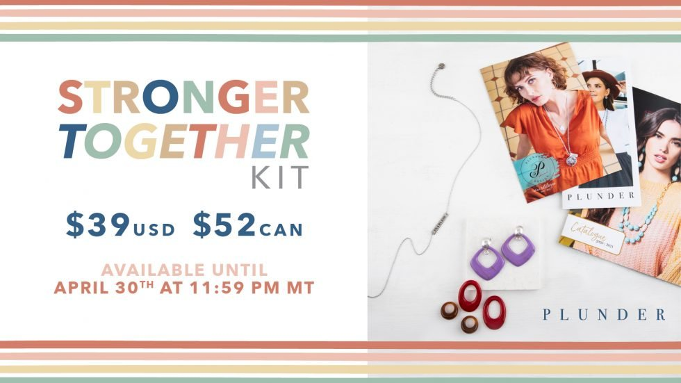 stronger together plunder jewelry