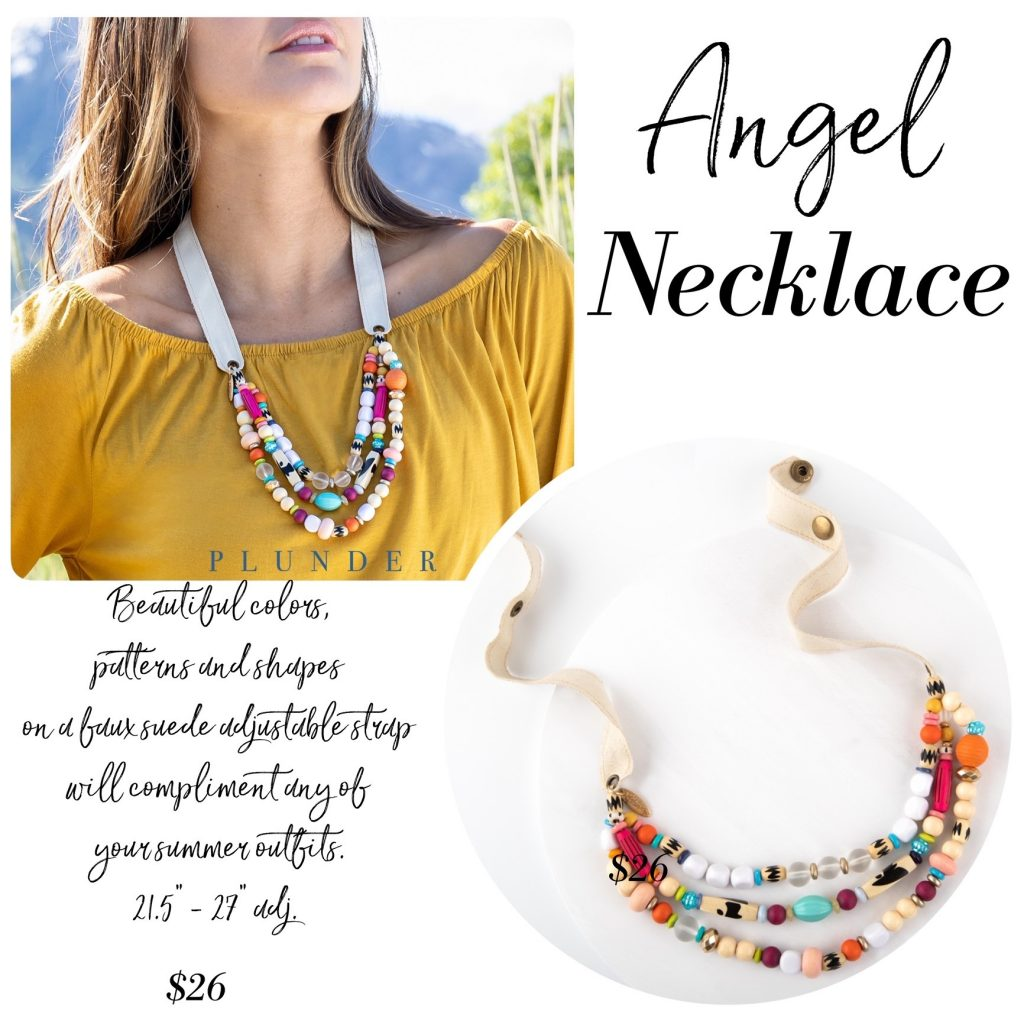 angle necklace Plunder Design Jewelry