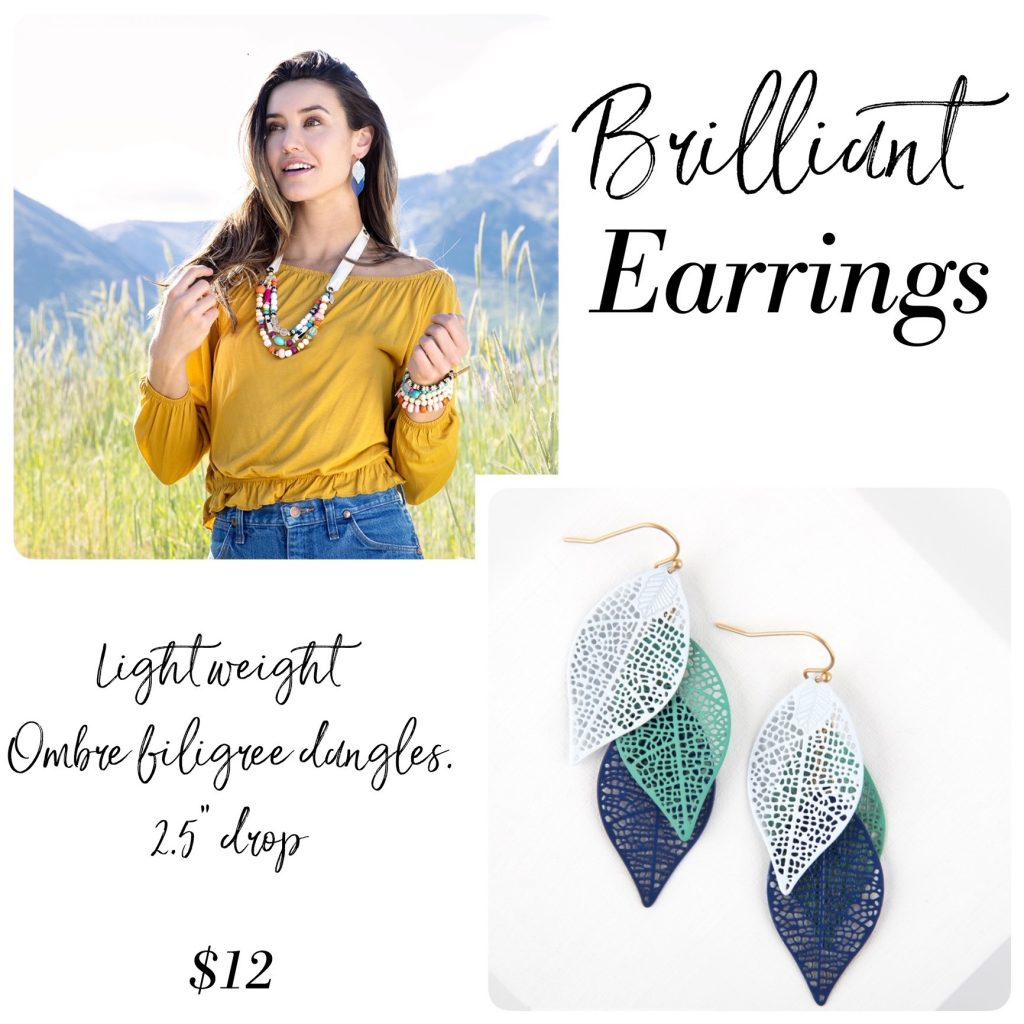 brilliant earrings Plunder Design Jewelry