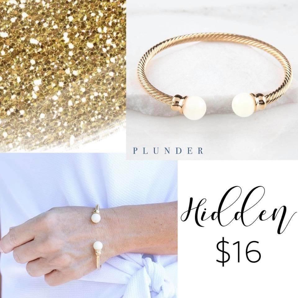 Plunder Design Gold Rush Hidden Bracelet