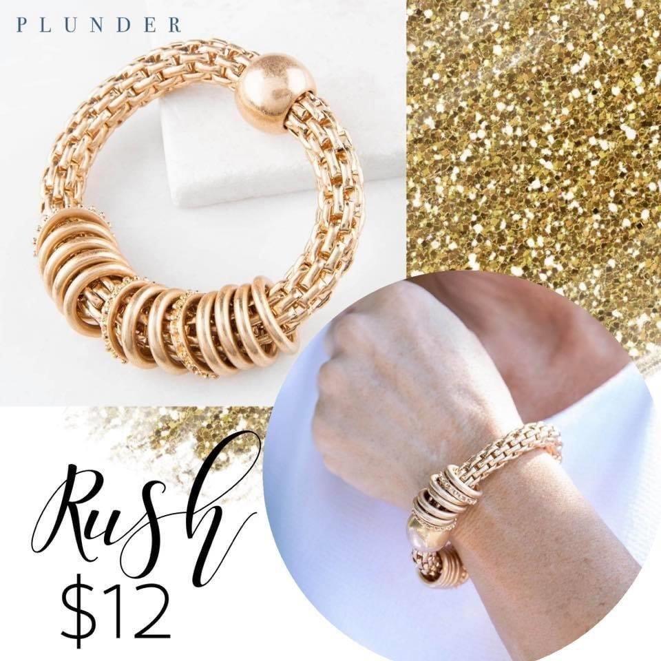 Plunder Design Gold Rush Bracelet