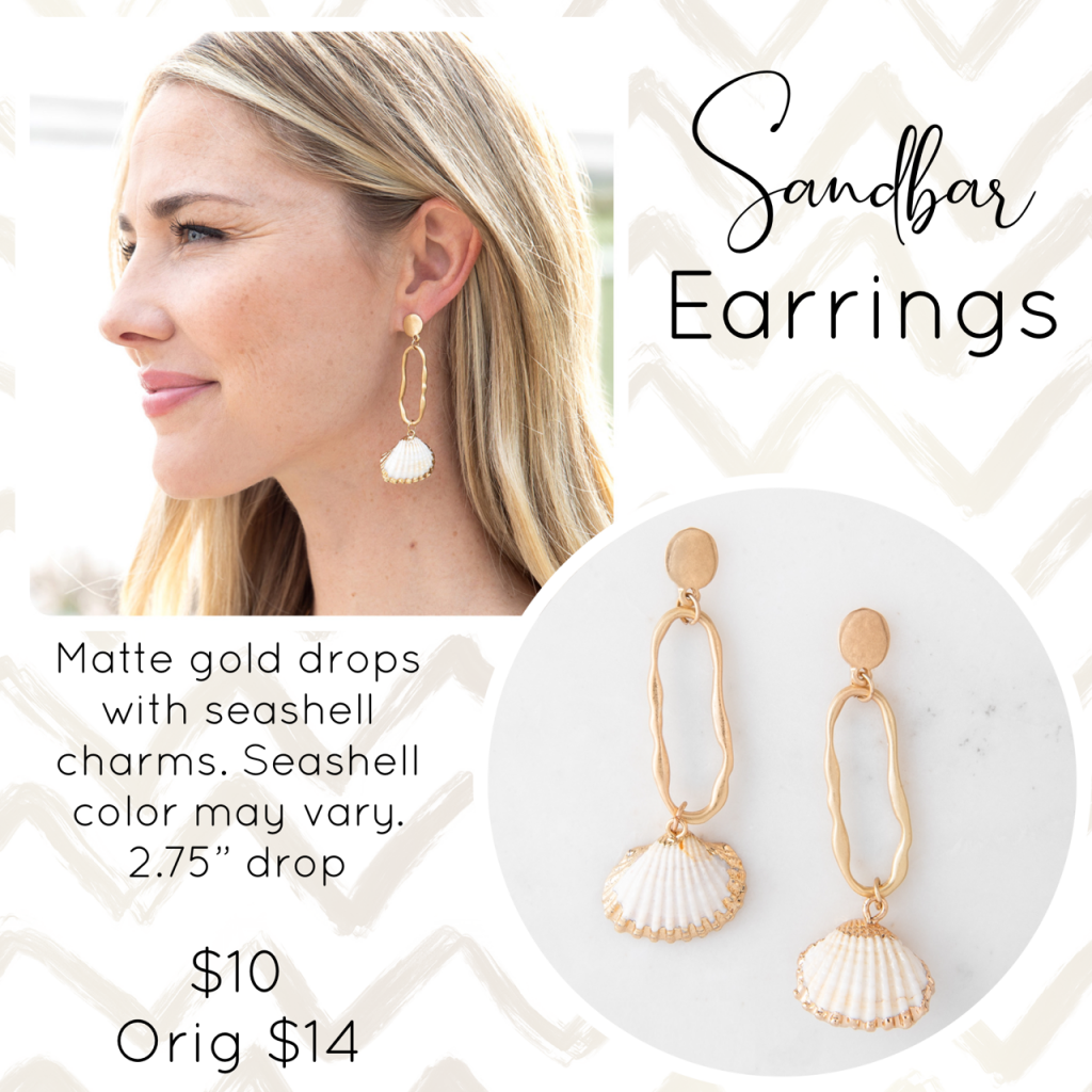 Plunder Jewelry Sandbar Earrings
