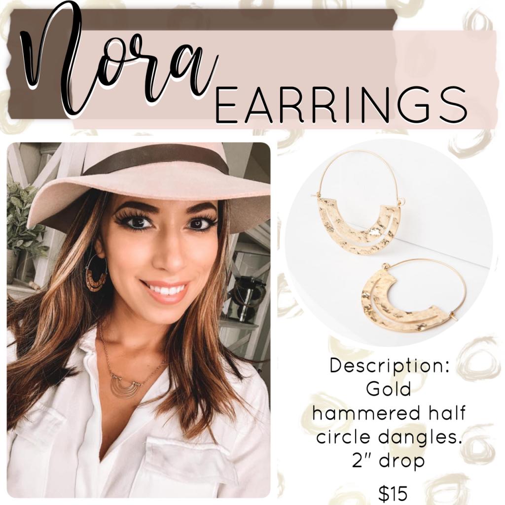 Plunder Design Jewelry Drop Nora Earrings