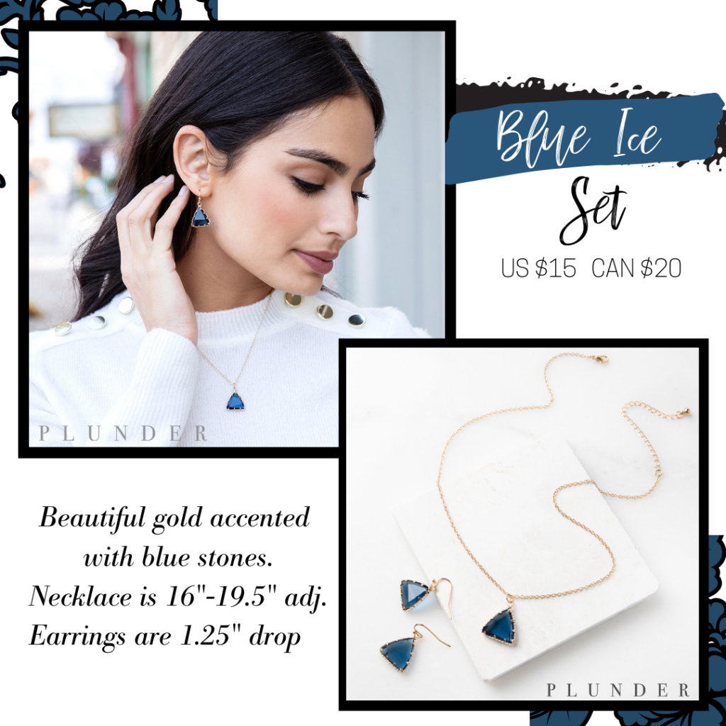 Small Business Saturday – Plunder Design Jewelry Blue Ice Set