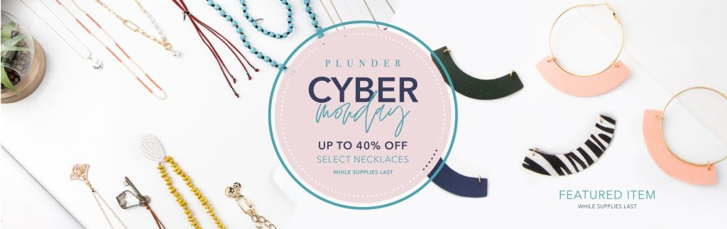 Cyber Monday Deal!  Plunder Design Jewelry