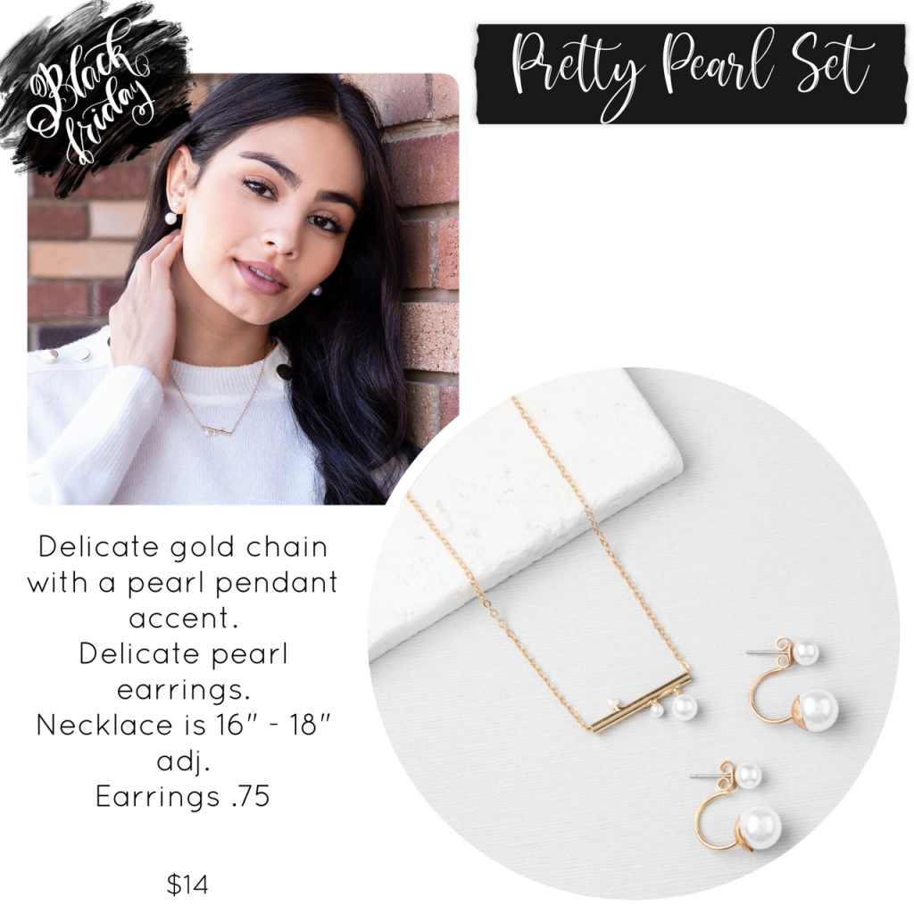 Black Friday Plunder Design Pretty Pearl Set