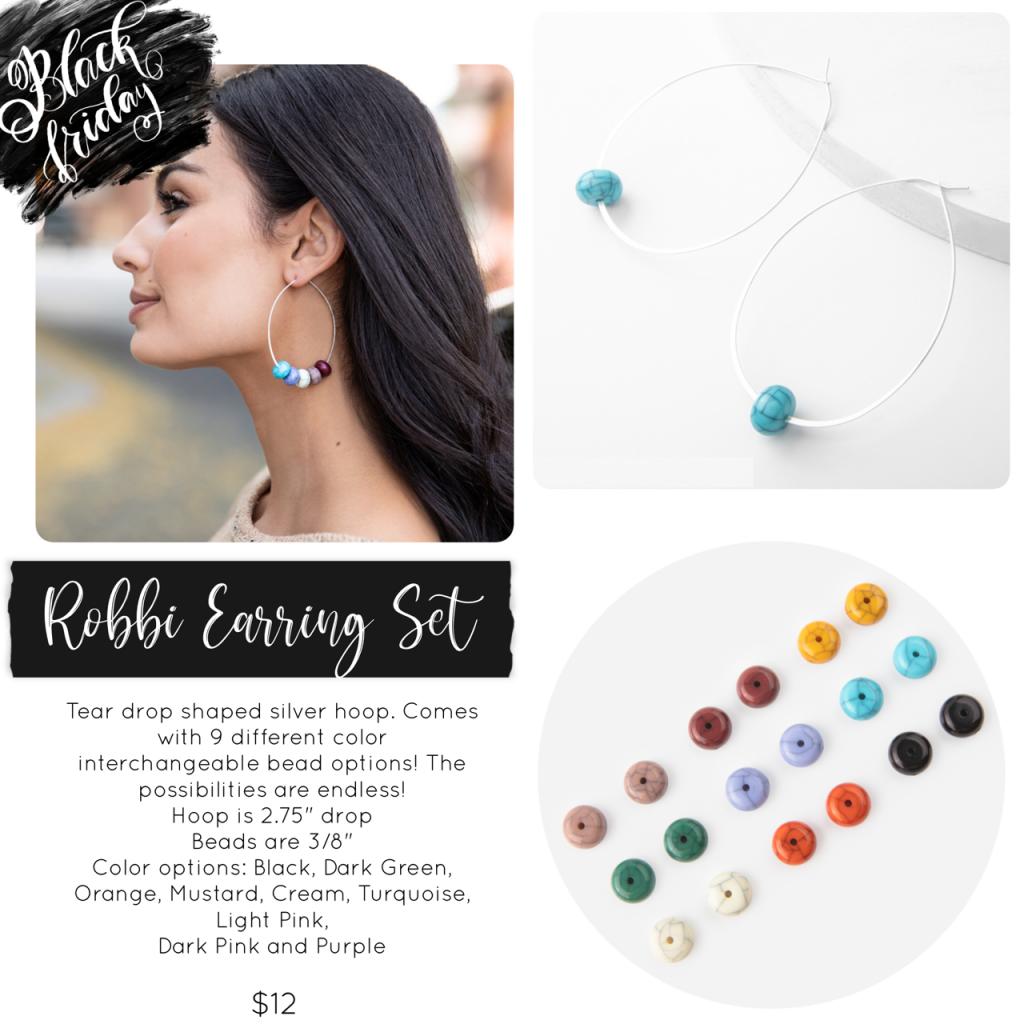 Black Friday Plunder Design Robbi Earring Set
