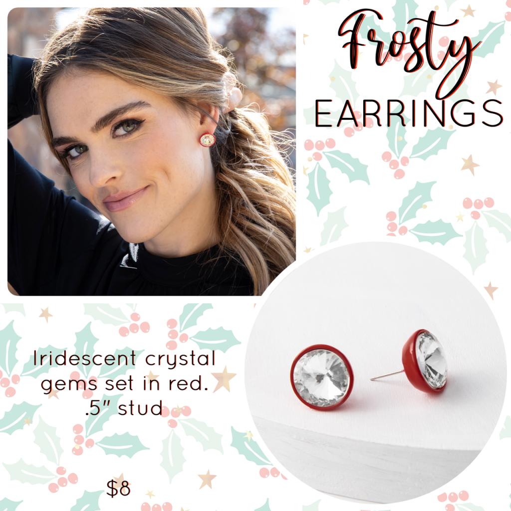 Plunder Design frosty earrings