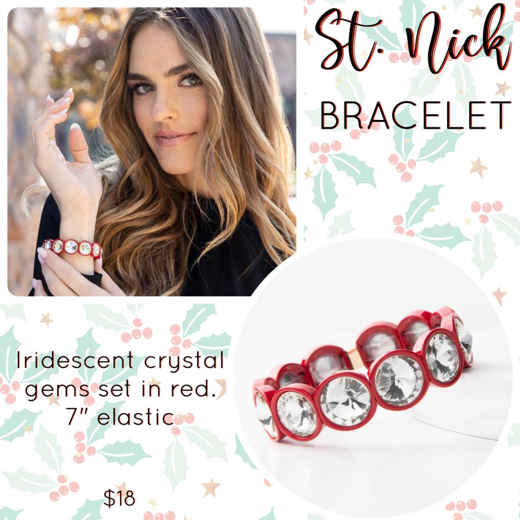 Plunder Design st. nick bracelet