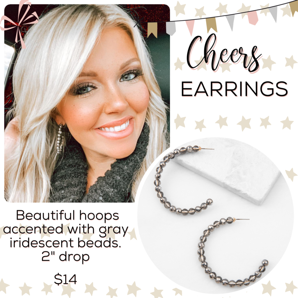 New Year New Jewelry – The Plunder Design cheers earrings