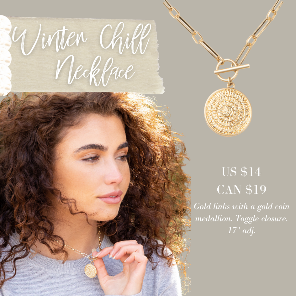 Winter Jewelry Drop - Plunder Design Jewelry Winter Chill Necklace