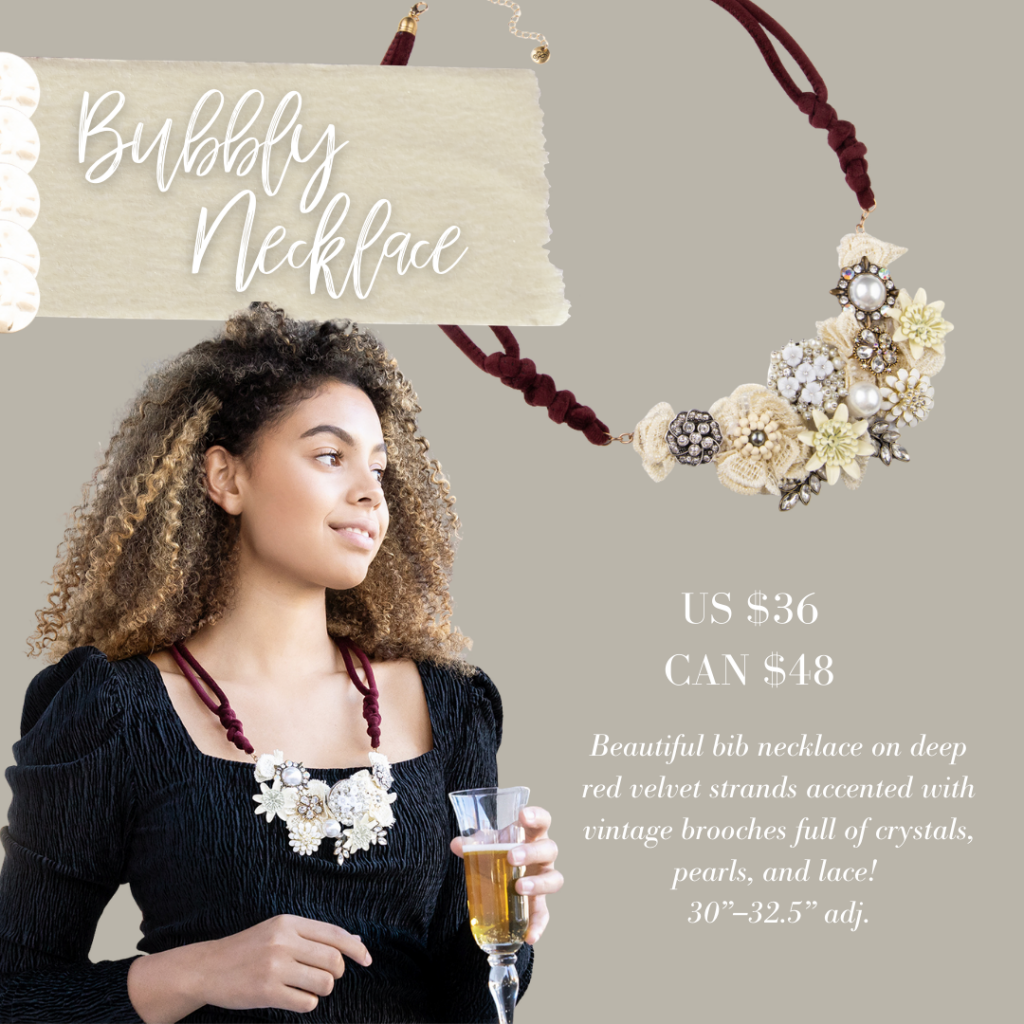 Winter Jewelry Drop - Plunder Design Jewelry Bubbly necklace