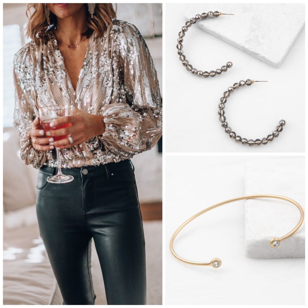 New Year New Jewelry – The Plunder Design earrings and bracelet