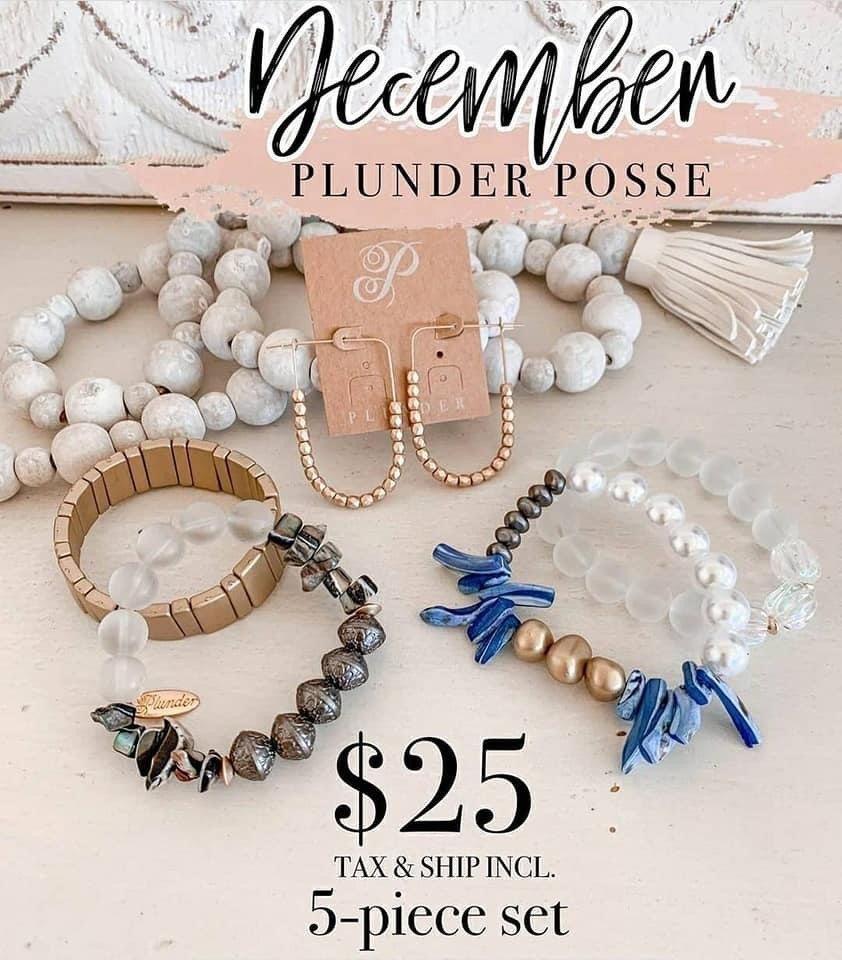 December 2020 Plunder Posse Set