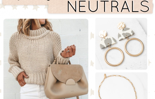 Winter Jewelry Drop - Plunder Design Jewelry Winter Neutrals