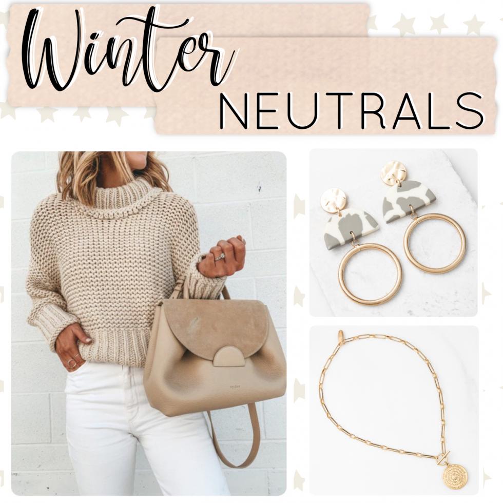 Winter Jewelry Drop - Plunder Design Jewelry Winter Neutrals