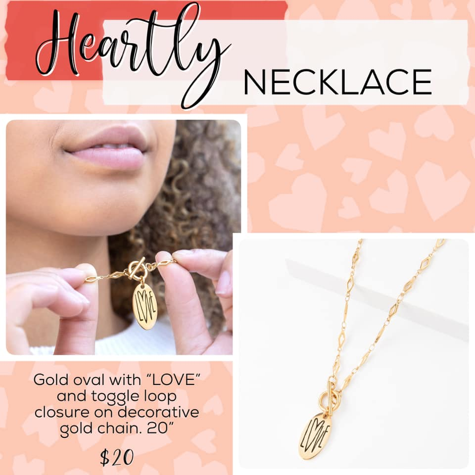 Plunder Design Jewelry Heartly necklace
