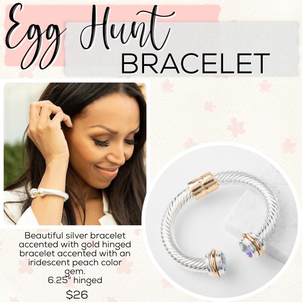 Easter Plunder Jewelry Drop egg hunt bracelet
