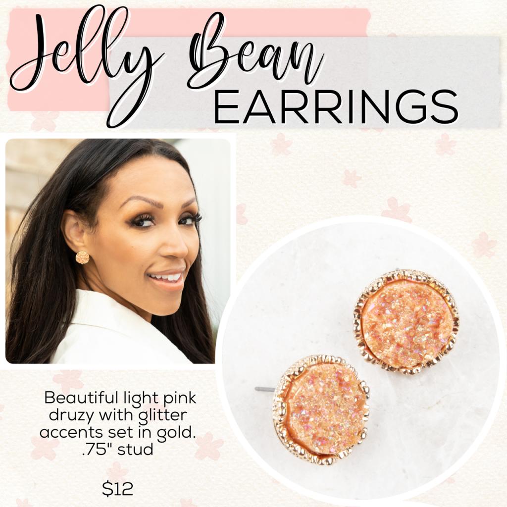 Easter Plunder Jewelry Dropjelly bean earrings