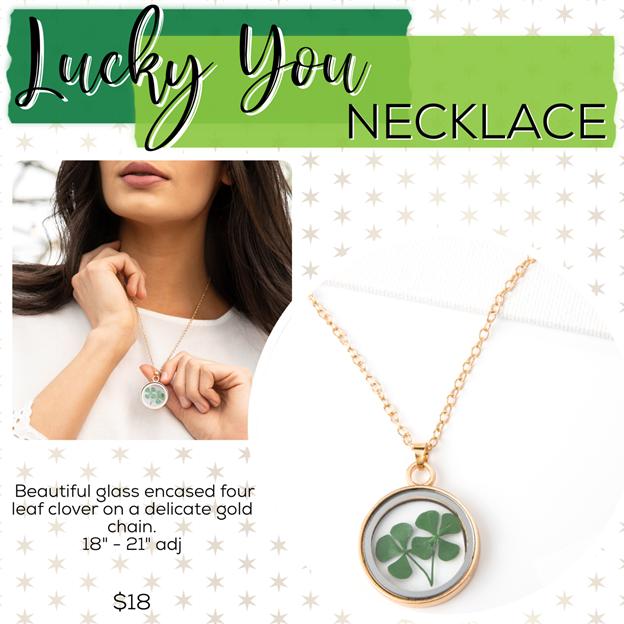St. Patrick's Day Jewelry Drop – Plunder Design Jewelry Necklace