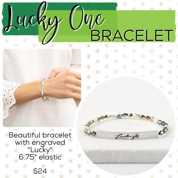 St. Patrick's Day Jewelry Drop – Plunder Design Jewelry Bracelet
