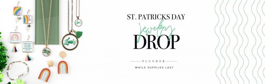 St. Patrick's Day Jewelry Drop