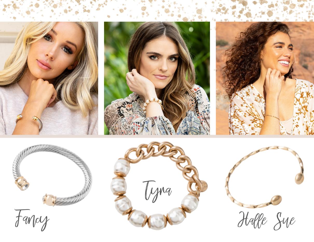 Jewelry Box Staples Fancy, Tyna, Halle Sue