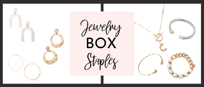Jewelry Box Staples