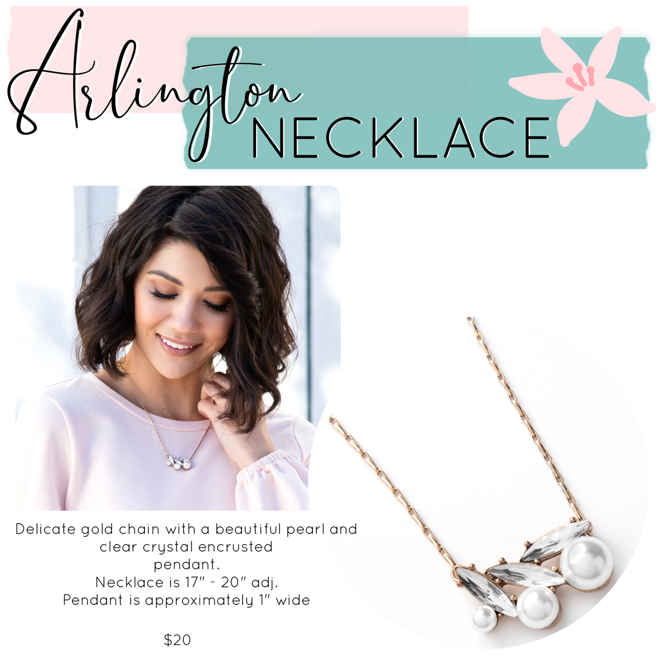 Mother's Day Jewelry Drop – Arlington Necklace