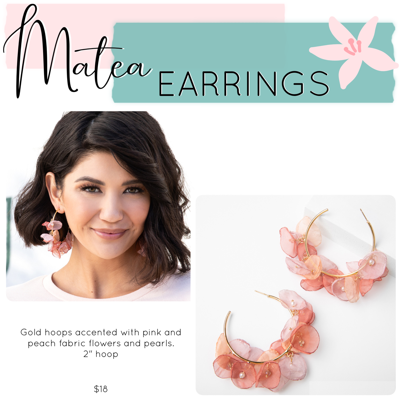 Mother's Day Jewelry Drop – Matea Earrings
