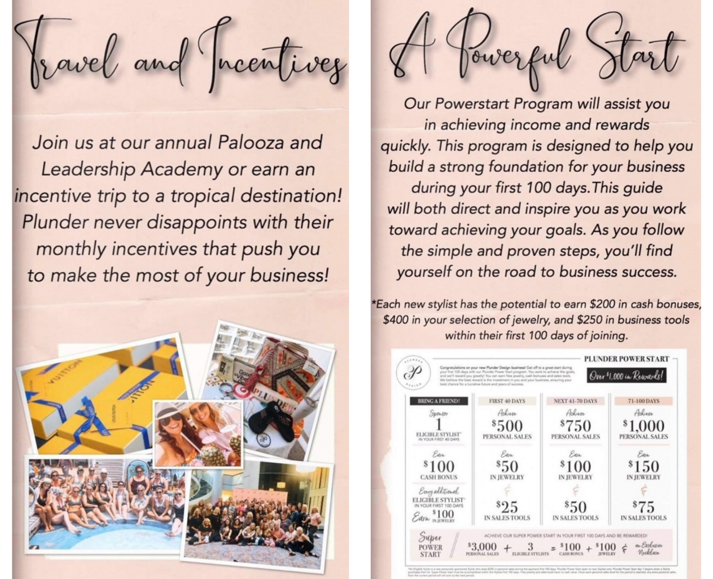 travel and incentives plunder jewelry