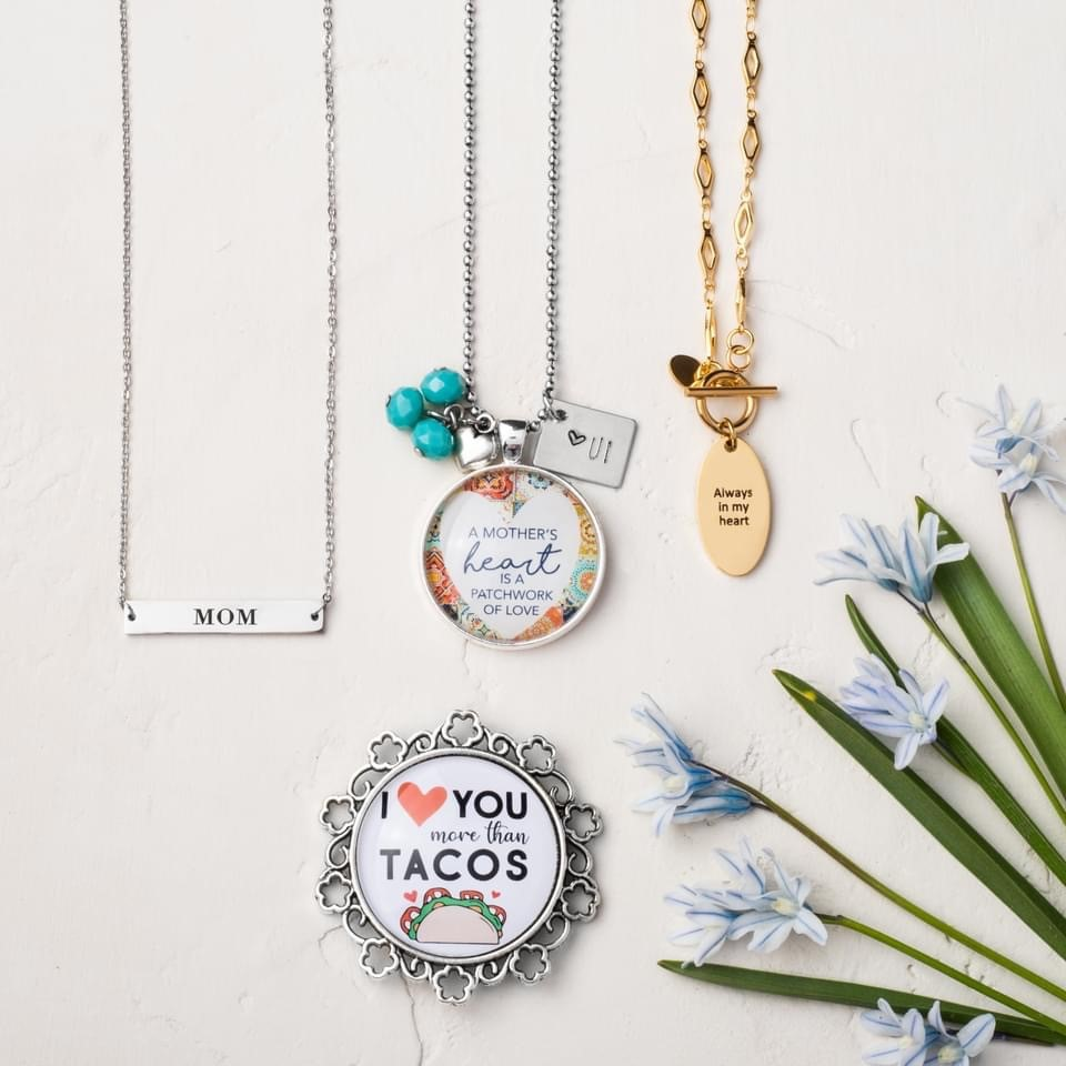 Mother's Day Jewelry Drop – Plunder Design Jewelry I Heart You More Than Tacos