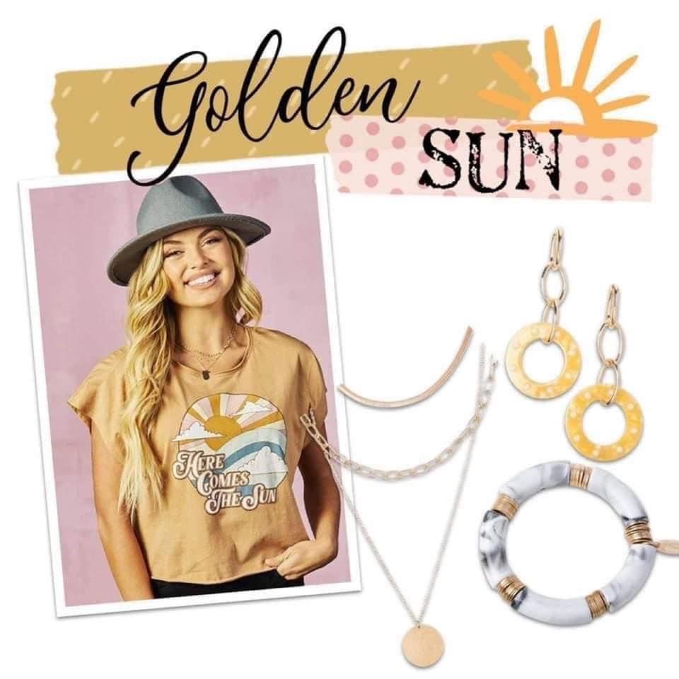 Plunder Design Jewelry Golden Sun